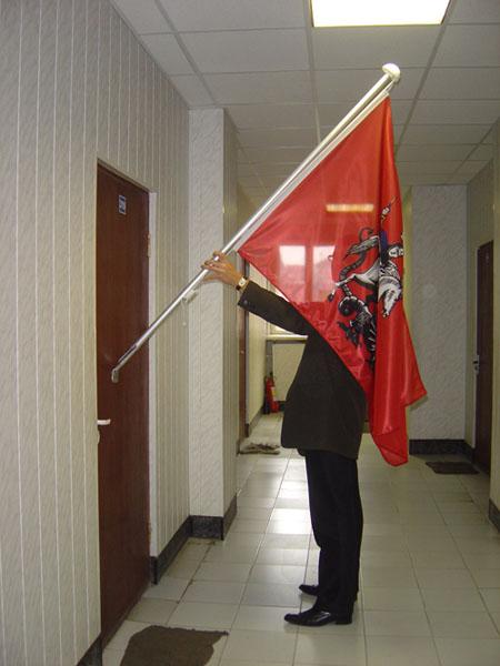 крепление для флага